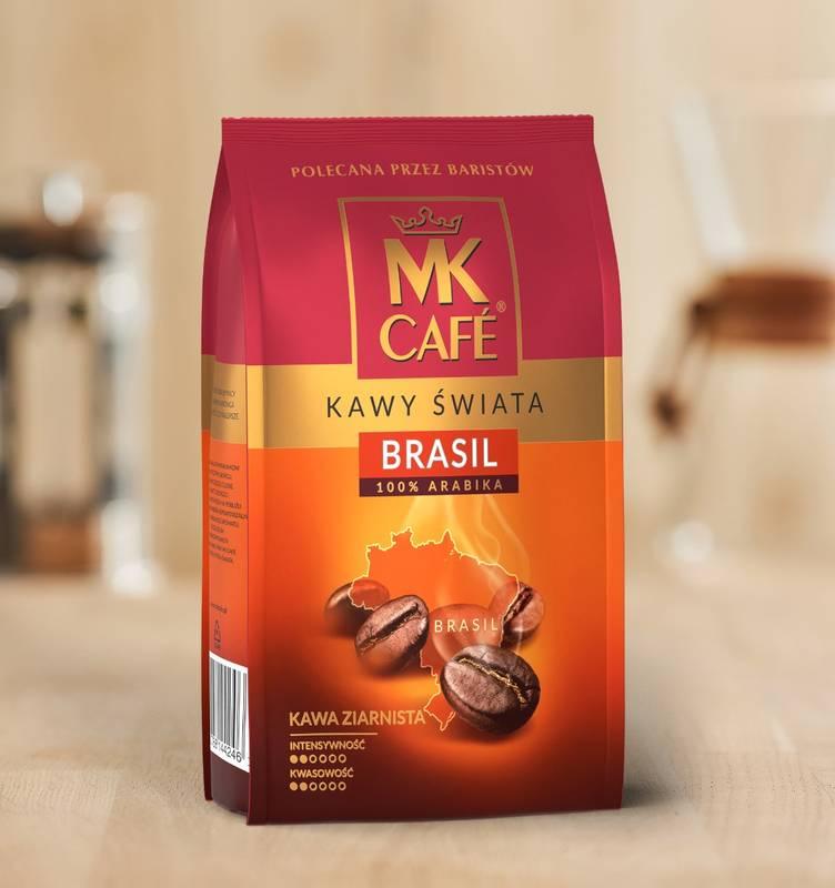 Kawa ziarnista MK Cafe Brazylia 1kg 100% Arabica