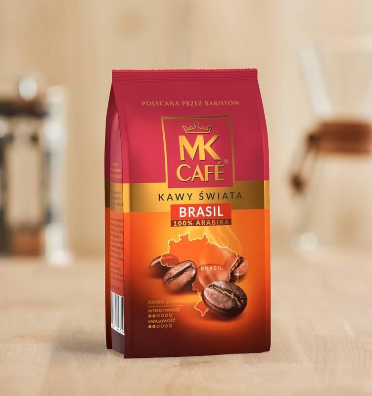 Kawa ziarnista MK Cafe Brazylia 250g 100% Arabica