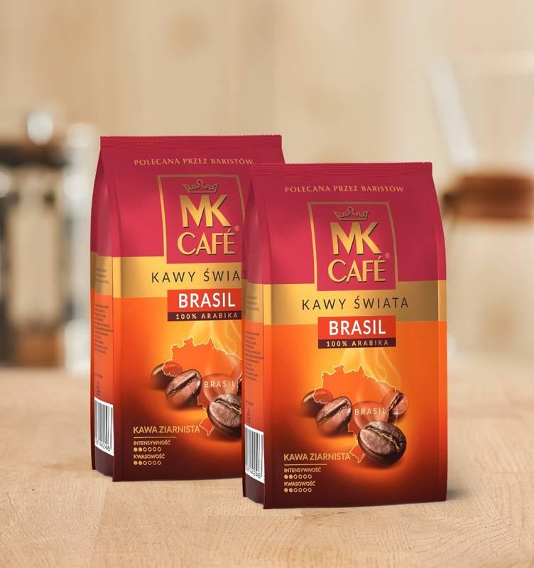 Kawa ziarnista MK Cafe Brazylia 2x1kg 100% Arabica