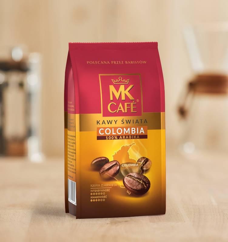 Kawa ziarnista MK Cafe Colombia 250g 100% Arabica