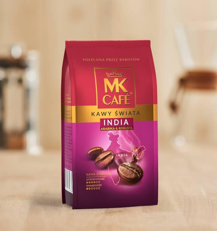 Kawa ziarnista MK Cafe India 250g