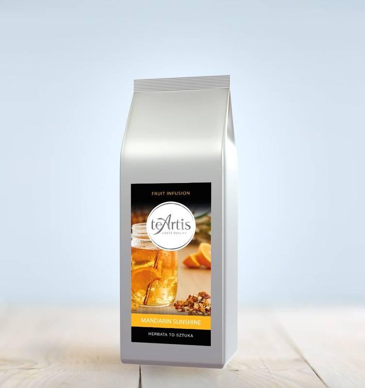 TeArtis owocowa herbata MANDARIN SUNSHINE 200g