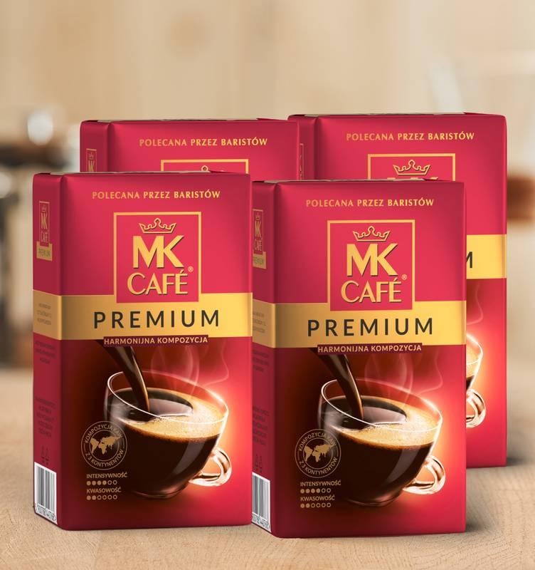 Kawa mielona MK Cafe Premium 4x500g